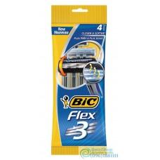 Набор разовых бритвенных станков Bic 3 Flex 4 шт.