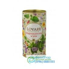 Чай зеленый Марокканская мята Lovare ж/б 80г