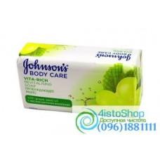 Мыло пробуждающее Johnson's с экстрактом косточек винограда 125г