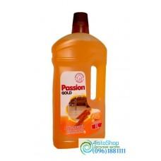 Средство для мытья паркета и ламината Passion Gold Апельсин 1л