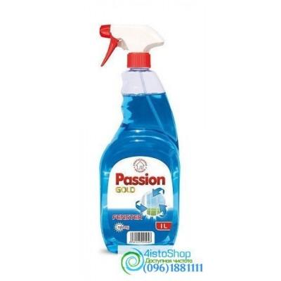 Средство для мытья стекол Passion Gold Blue 1л