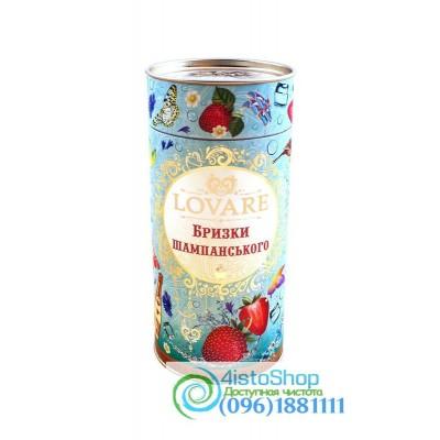 Чай зеленый Брызги шампанского Lovare ж/б 80г