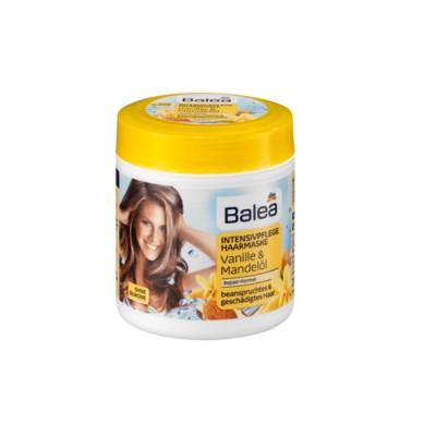 Маска для поврежденных волос Balea Ваниль миндаль 200 мл