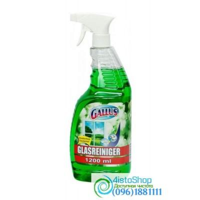 Средство для мытья стекол и зеркал Gallus Ландыш 1,2л