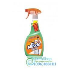 Спрей для стекол с нашатырным спиртом Mr Muscle 500 мл