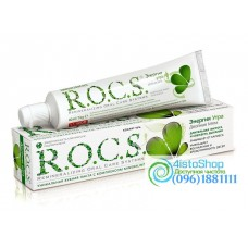 Зубная паста Энергия утра R.O.C.S. двойная мята 74г