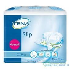 Подгузники для взрослых Tena Slip Plus Large 92-144 см 30 шт дышащие