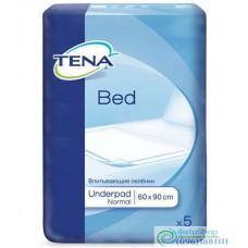 Пеленки для взрослых и детей Tena Bed Normal 60х90 5шт