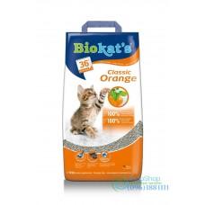 Наполнитель для кошачьего туалета Biokats Orange Gimpet 10кг