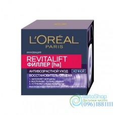 Ночной крем для лица L'Oreal Paris Revitalift Filler Восстановитель объема антивозрастной 50мл