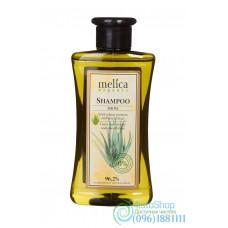 Шампунь для поврежденных волос Melica Organic с протеинами пшеницы и экстрактом алоэ 300мл