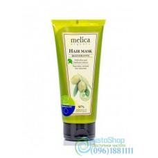 Маска для волос Melica с экстрактами лопуха и оливок 200мл