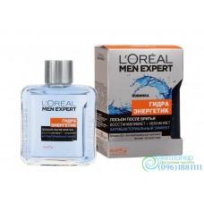 Лосьон после бритья L'Oreal Paris Men Expert Гидра Энергетик Антибактериальный эффект 100мл