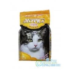 Наполнитель для кошачьего туалета Мурка с ароматом лаванды 2 кг очень мелкий