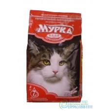 Наполнитель для кошачьего туалета Мурка с ароматом лаванды 2 кг крупный