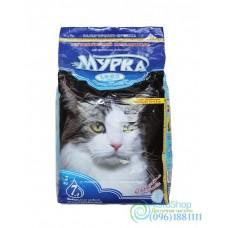 Наполнитель для кошачьего туалета Мурка с ароматом лаванды 2 кг средний