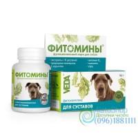 Фитомины для укрепления и восстановления суставов для собак и щенков 100 таблеток