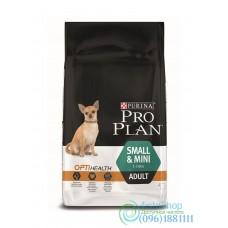 Pro Plan Adult Small and Mini сухой корм для собак с чувствительным пищеварением 0,5 кг с курицей и рисом
