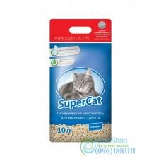 Наполнитель для кошачьего туалета SuperCat стандарт 3 кг синий
