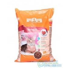 Сухой корм для взрослых котов Клуб 4 лапы со вкусом мяса 0,5 кг