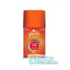 Сменный баллон Освежитель воздуха автоматический Glade Сладкий апельсин 269 мл