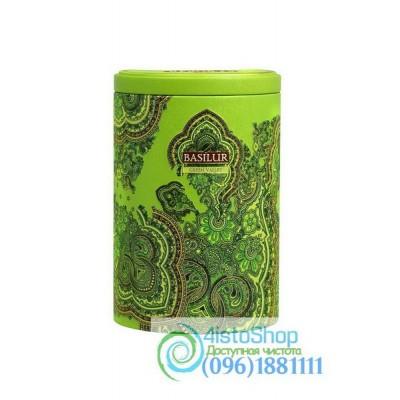 Чай зеленый Basilur Восточная коллекция Зеленая долина ж/б