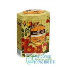 Чай черный Basilur Малина и шиповник ж/б 100г