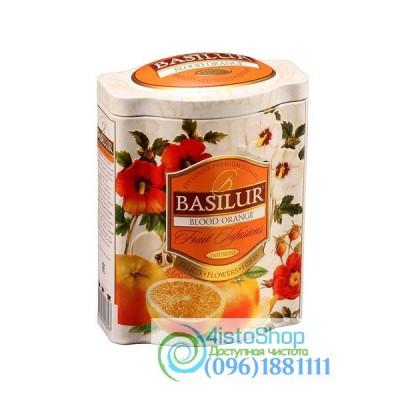 Чай фруктовый Basilur Красный апельсин ж/б 100г