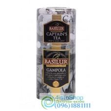 Чай черный Basilur Гампола и Капитанский 2в1 125г