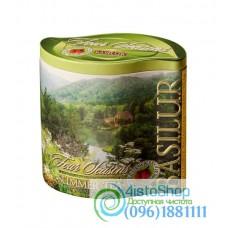 Чай зеленый Basilur Летний с земляникой ж/б 125г