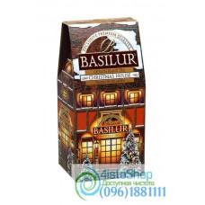 Чай черный Basilur Рождественский домик картон 100г