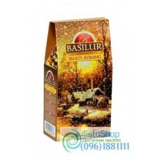 Чай черный Basilur Морозный вечер 100г (картон)