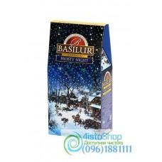 Чай черный Basilur Морозная ночь 100г (картон)