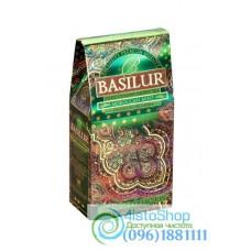 Чай зеленый Basilur  Восточная коллекция Марокканская мята 100г (картон)