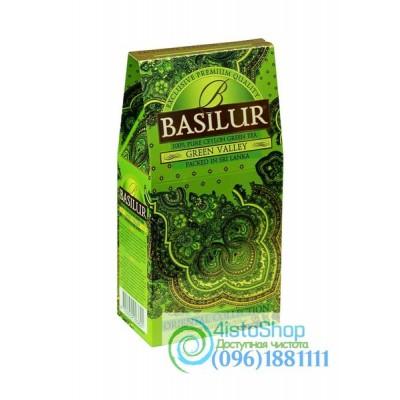 Чай зеленый Basilur Зеленая долина картон 100г