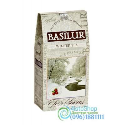 Чай черный Basilur Зимний с клюквой 100г