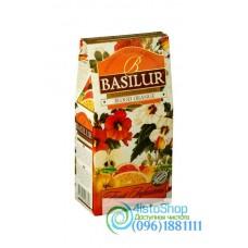 Чай фруктовый Basilur Красный апельсин 100г картон
