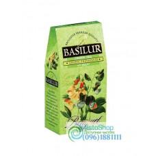 Чай зеленый Basilur Букет Зелёная свежесть картон 100г