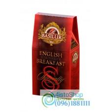 Чай черный Basilur Избранная классика Английский завтрак картон 100 г