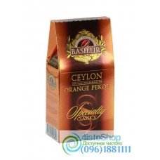 Чай черный Basilur Цейлонский Orange Pekoe 100г картон