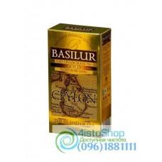 Чай черный Basilur Чайный остров Золотой пакетированный 25х2г