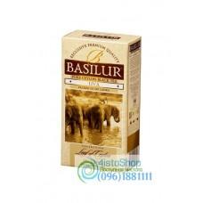 Чай черный Basilur Лист Цейлона Ува пакетированный 25х2г