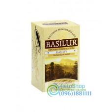 Чай черный Basilur Лист Цейлона Канди пакетированный 20х2г