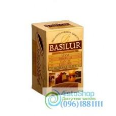 Чай черный Basilur Ассорти Лист Цейлона (картон) 20пак*2г