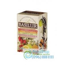 Чай черный Basilur Ассорти Магические фрукты (картон) 20пак*2г