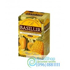 Чай черный Basilur Манго и ананас (картон) 20пак*2г