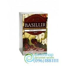 Чай черный Basilur Волшебные фрукты Черешня пакетированный 20х2г