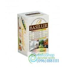 Чай черный Basilur Ассорти Времена года (картон) 20пак*2г