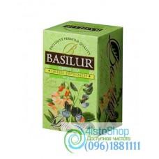 Чай зеленый Basilur Букет Зелёная свежесть пакетированный 20х1,5г