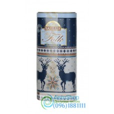 Чай черный Basilur Народный трикотаж Индиго 100г
